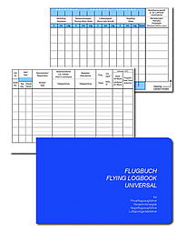 FLUGBUCH Flying Logbook Universal